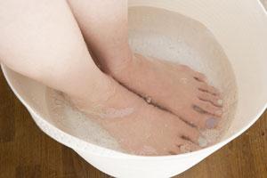 CO2footbath